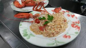 risotto all astice